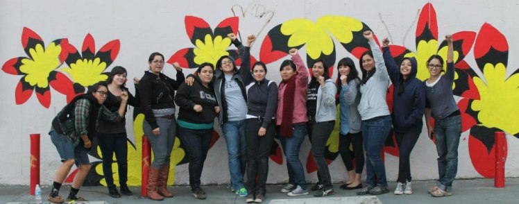 Day 1 of Assata Mural